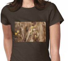 Pussy Willows - Catkins Womens Fitted T-Shirt