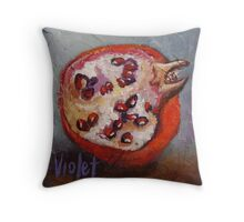 Pomegranate 6 Throw Pillow