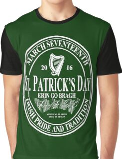 St. Patrick's Day - oval Graphic T-Shirt