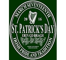 St. Patrick's Day - oval Photographic Print