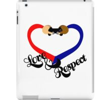 Love & Respect iPad Case/Skin