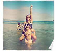 Tay at the beach Poster