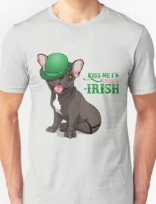 Kiss me I'm French-Irish  Unisex T-Shirt