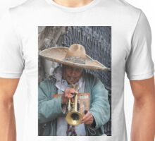 Trumpeting a tune in Puebla, Mexico Unisex T-Shirt