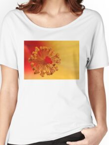 The Centre Of The Hibiscus Women's Relaxed Fit T-Shirt