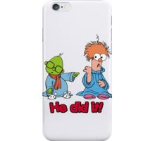 Muppet Babies - Bunsen & Beeker - He Did It! iPhone Case/Skin