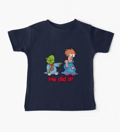 Muppet Babies - Bunsen & Beeker - He Did It! Baby Tee