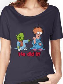 Muppet Babies - Bunsen & Beeker - He Did It! Women's Relaxed Fit T-Shirt