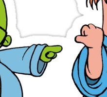 Muppet Babies - Bunsen & Beeker - He Did It! Sticker