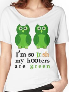 Green Hooters St. Patty's Day Shirt Women's Relaxed Fit T-Shirt