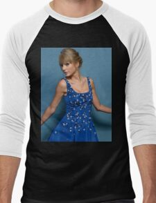 Cute Pose Taylor Swift 2 Men's Baseball ¾ T-Shirt