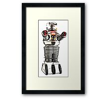 Lost in Space Robot B-9 Framed Print