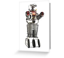 Lost in Space Robot B-9 Greeting Card