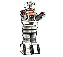 Lost in Space Robot B-9 Photographic Print