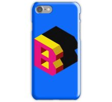 Letter B Isometric Graphic iPhone Case/Skin