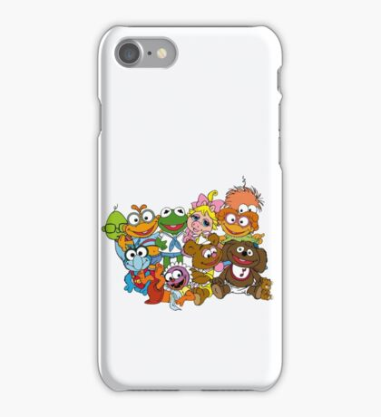 Muppet Babies - Group iPhone Case/Skin