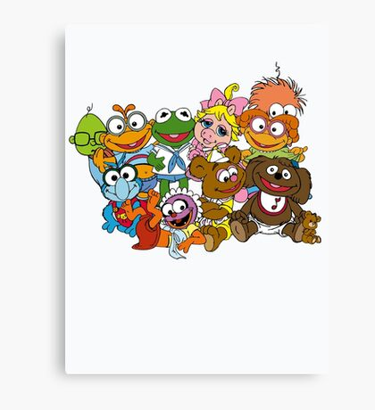 Muppet Babies - Group Canvas Print