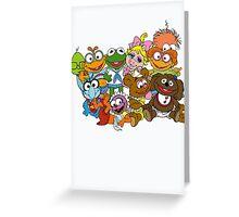 Muppet Babies - Group Greeting Card