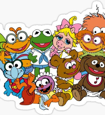 Muppet Babies - Group Sticker
