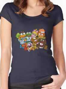 Muppet Babies - Group Women's Fitted Scoop T-Shirt