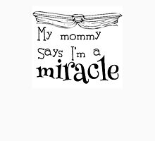Matilda - My mommy says I'm a miracle Men's Baseball ¾ T-Shirt