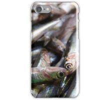 Sea-fresh Spanish sardines iPhone Case/Skin