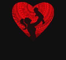 Motherhood - Heart Womens Fitted T-Shirt