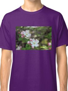 Blushing Apple Blossoms Classic T-Shirt