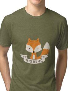 Fox for sake Tri-blend T-Shirt