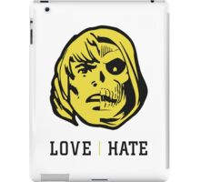 LOVE&HATE iPad Case/Skin