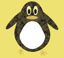 Geometric Penguin Kids Tee