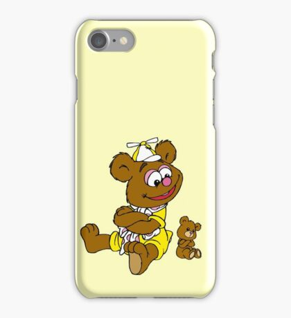 Muppet Babies - Fozzie Bear & Teddy - Arms Crossed iPhone Case/Skin