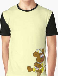 Muppet Babies - Fozzie Bear & Teddy - Arms Crossed Graphic T-Shirt