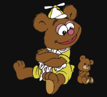 Muppet Babies - Fozzie Bear & Teddy - Arms Crossed Kids Tee