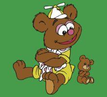 Muppet Babies - Fozzie Bear & Teddy - Arms Crossed Baby Tee