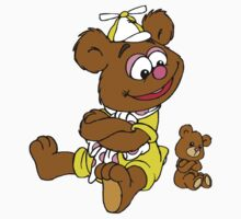 Muppet Babies - Fozzie Bear & Teddy - Arms Crossed One Piece - Long Sleeve