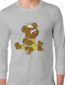 Muppet Babies - Fozzie Bear & Teddy - Arms Crossed Long Sleeve T-Shirt
