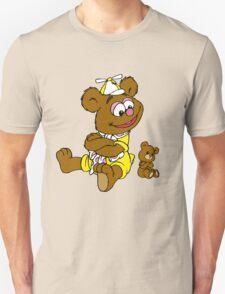 Muppet Babies - Fozzie Bear & Teddy - Arms Crossed Unisex T-Shirt