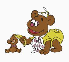 Muppet Babies - Fozzie Bear & Teddy - Banana Telephone Kids Tee