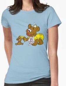 Muppet Babies - Fozzie Bear & Teddy - Banana Telephone Womens Fitted T-Shirt