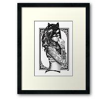 Tattoo Sirens - Catwoman Framed Print