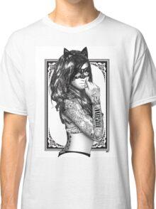 Tattoo Sirens - Catwoman Classic T-Shirt