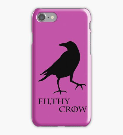 Filthy Crow iPhone Case/Skin