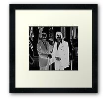 Richard Nixon & Elvis Presley Framed Print