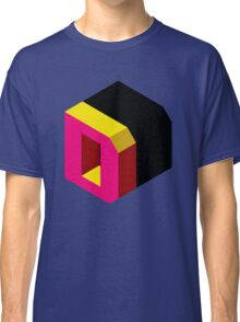 Letter D Isometric Graphic Classic T-Shirt