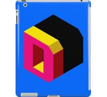 Letter D Isometric Graphic iPad Case/Skin