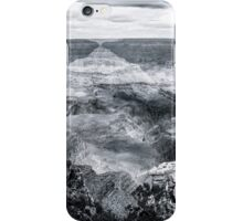 Grand Canyon No. 2 - bw iPhone Case/Skin