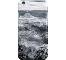 Grand Canyon No. 2 - bw iPhone Case/Skin
