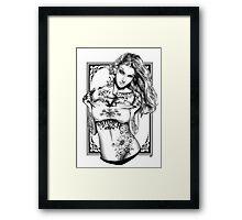 Tattoo Siren - Poison Ivy Framed Print