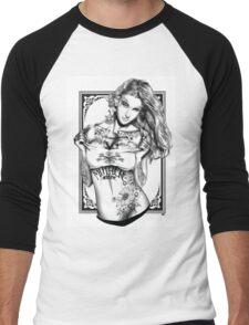 Tattoo Siren - Poison Ivy Men's Baseball ¾ T-Shirt